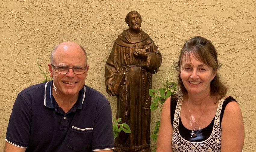 Passing the Leadership Hat at St. Vincent de Paul